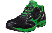 Mizuno Aero 9 Chaussures course Homme Wave vert/noir